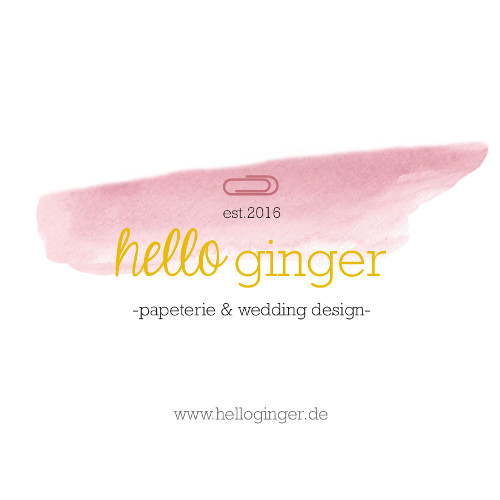 hello ginger papeterie & wedding design